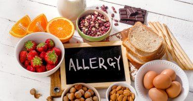 A leggyakrabban allergiát okozó ételek