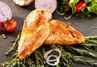 Csirke pirított zöldségekkel