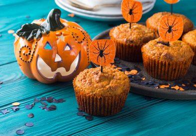 Sütőtökös muffin Halloweenre